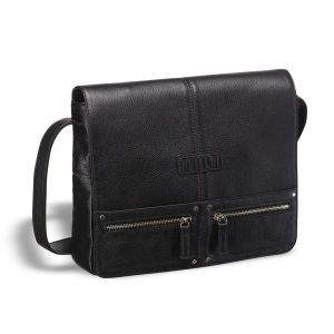 Кожаная сумка через плечо BRIALDI Vallejo (Валледжо) black