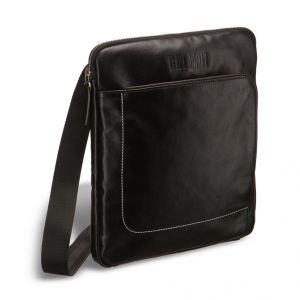 Кожаная сумка через плечо BRIALDI Carano (Карано) black