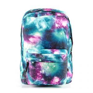 Рюкзак молодежный 1130115327_54; полиэстер; голубой
