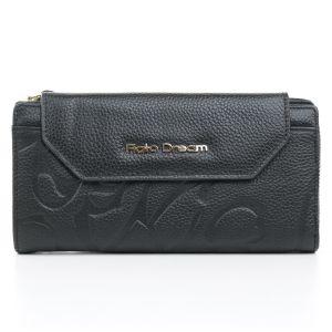 Чёрный кошелёк Fiato Dream