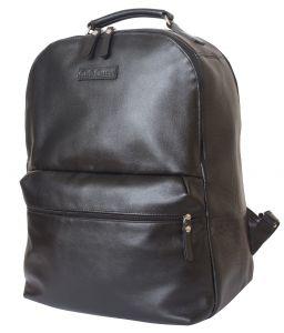 Кожаный рюкзак для ноутбука Carlo Gattini Tellaro black